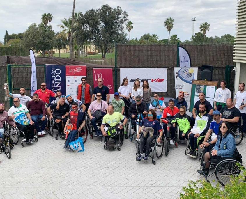 Open de padel en silla de ruedas - Fundacion Sando