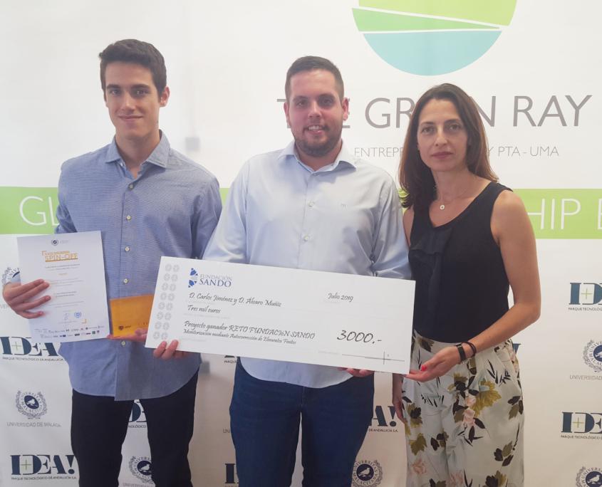 Reto Tecnologico. Premios Spin-Off-Universidad de Malaga - Fundacion Sando
